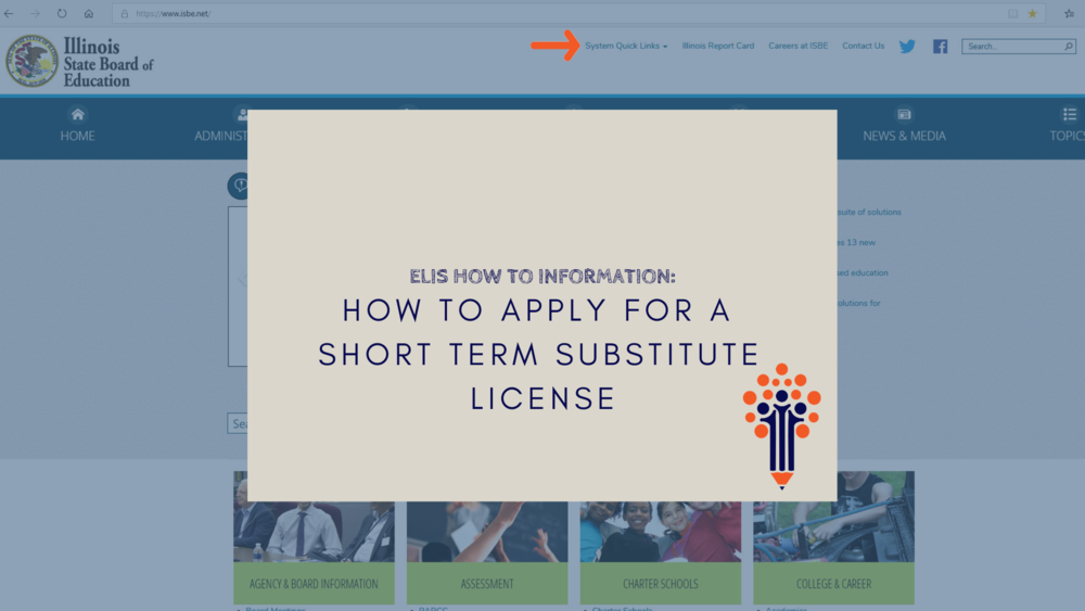 How to Apply for a Short Term Substitute License