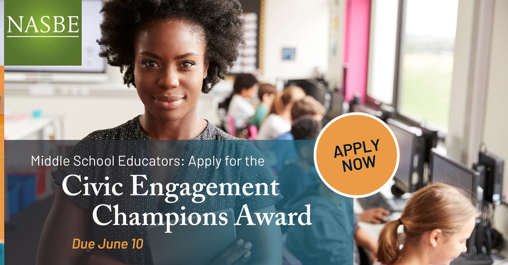 Civic Engagement Champions Award Information