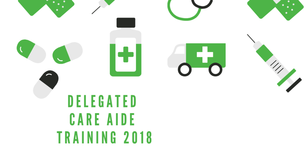 Delegated Care Aide Training