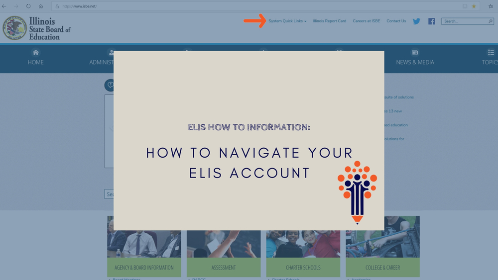 How to Navigate Your ELIS Account