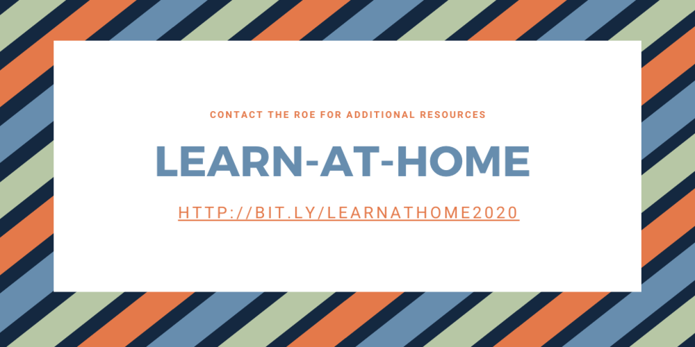 Learn at Home Resources for Educators and Families