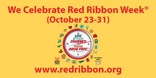 Red Ribbon Week: October 23 - 31, 2018