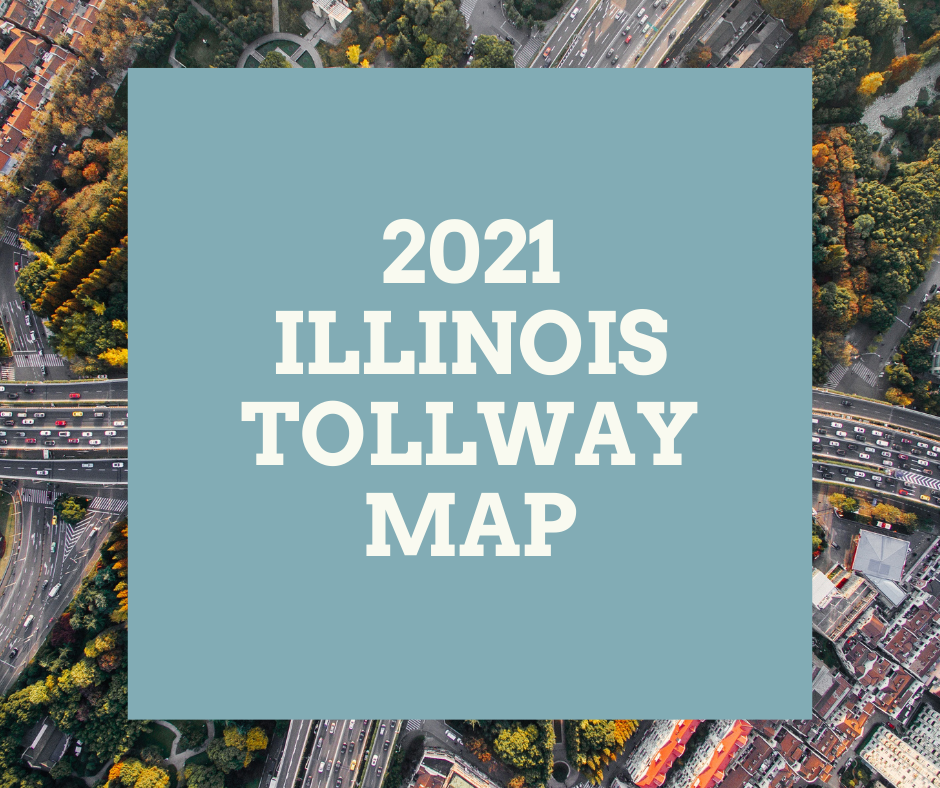 2021 Illinois Tollway Map Artwork
