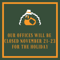 Thanskgiving Week Office Hours