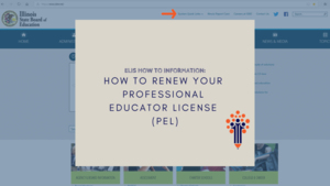 How to Renew Your Professional Educator License