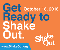 ShakeOut Earthquake Drill information