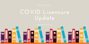 Did You Know - COVID Licensure Update from ISBE