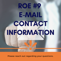 ROE #9 Email Contact Information