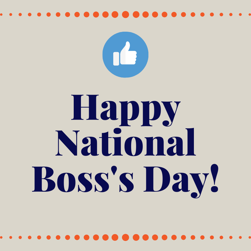 National Boss's Day image