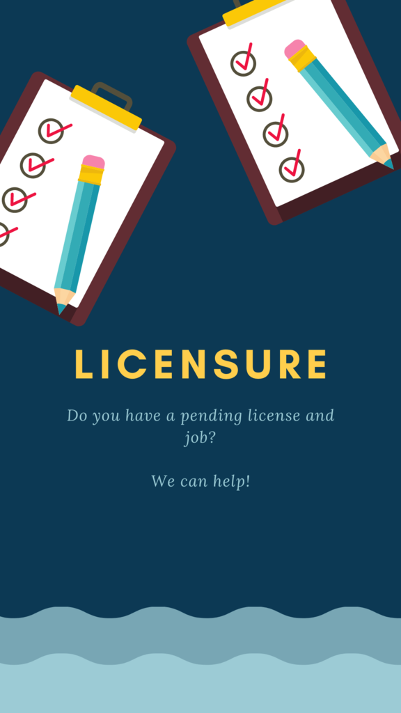 Licensure Information