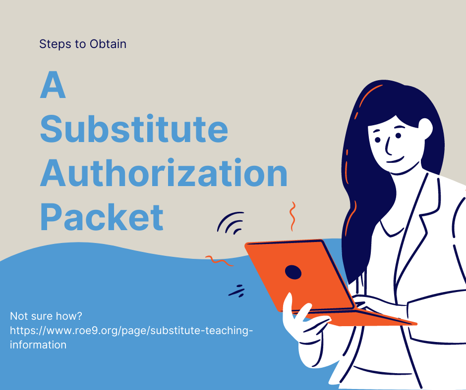 Substitute Authorization Packet