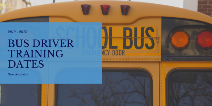 Bus Driver Training Info