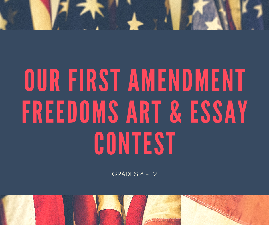 First Amendment Essay Contest image