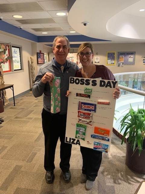 Happy Boss's Day to Mr. Koerner & Mrs. Thomas!