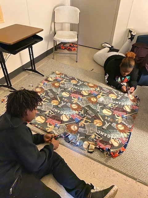 Blankets Service Project
